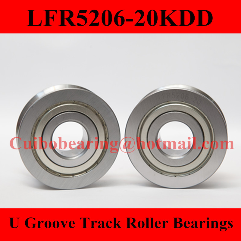 Free Shiping 1PCS LFR5206-20KDD LFR5206 Groove Track Roller Bearings size:25*72*25.8mm прогулочные коляски cool baby kdd 6688gb a