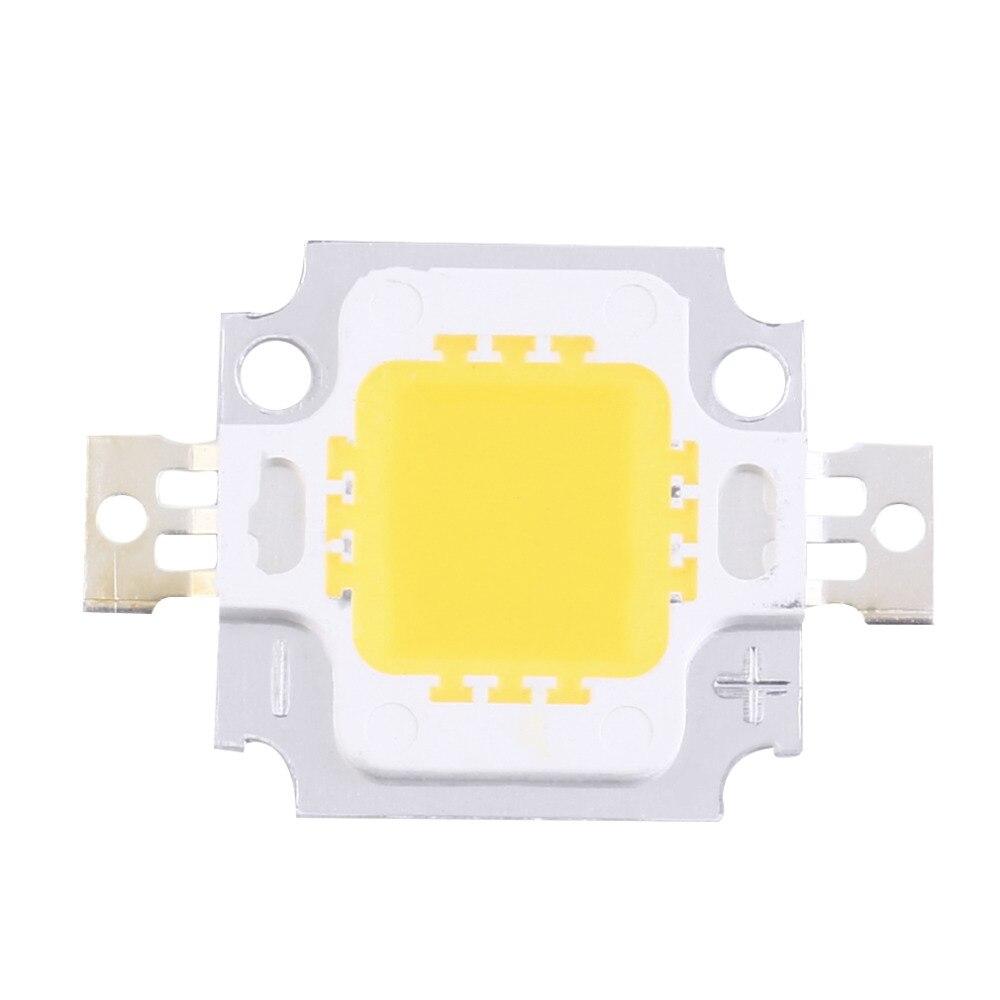 2 Pcs 10W High Power Integrated LED lamp Beads Chips SMD Bulb Warm White For DIY Flood light Spotlight