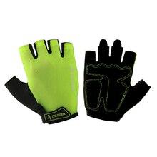 Велосипедные перчатки с полупальцами, велосипедные перчатки MTB, летние противоударные Перчатки Для Спортивного Велосипеда, дышащие, лайкра, Guantes Ciclismo