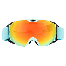 Ski Eyewear Anti-fog Ski Glasses Spherica Ski Goggles UV400 Double Lens Ski Snowboard Snow Motocross Goggles About 150g