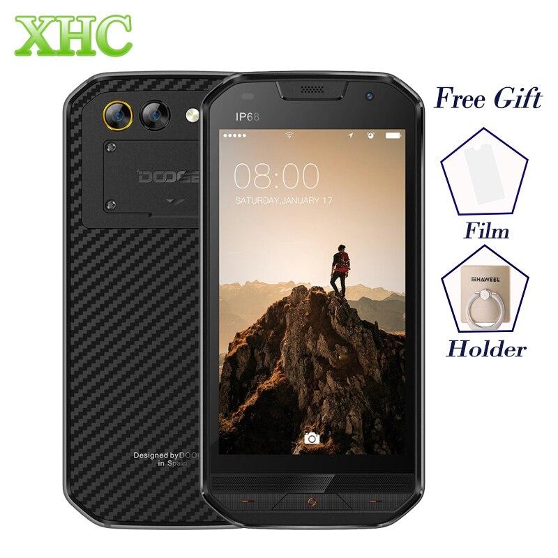 DOOGEE S30 Android 7.0 Smartphone IP68 Wasserdicht 5,0 ''Seite Fingerabdruck 5 V/2A Schnellladung 2 GB + 16 GB Dual SIM LTE 4G Handy
