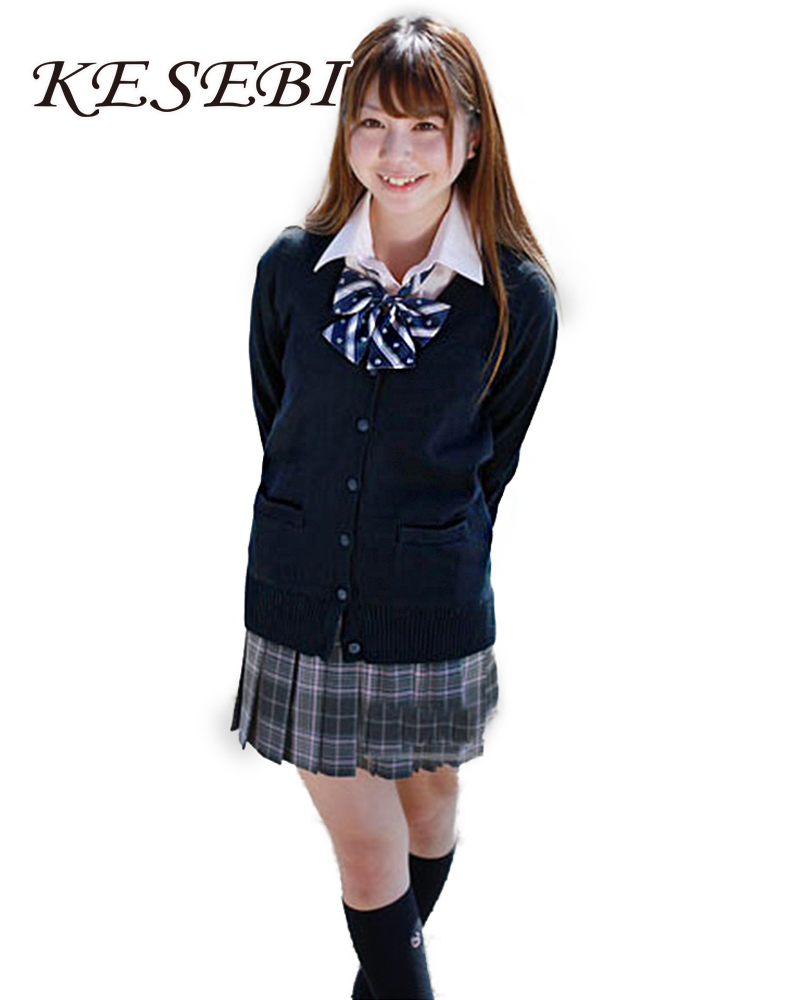 Fashion style School japanese uniforms sweater for lady