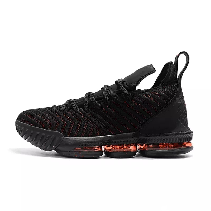 LeBron 16 Fresh Bred Basketball shoes LeBron 16 Oreo AO2595 006 LeBron 16  Triple Black james 16 size us7 us12-in Basketball Shoes from Sports ... eb3481daa