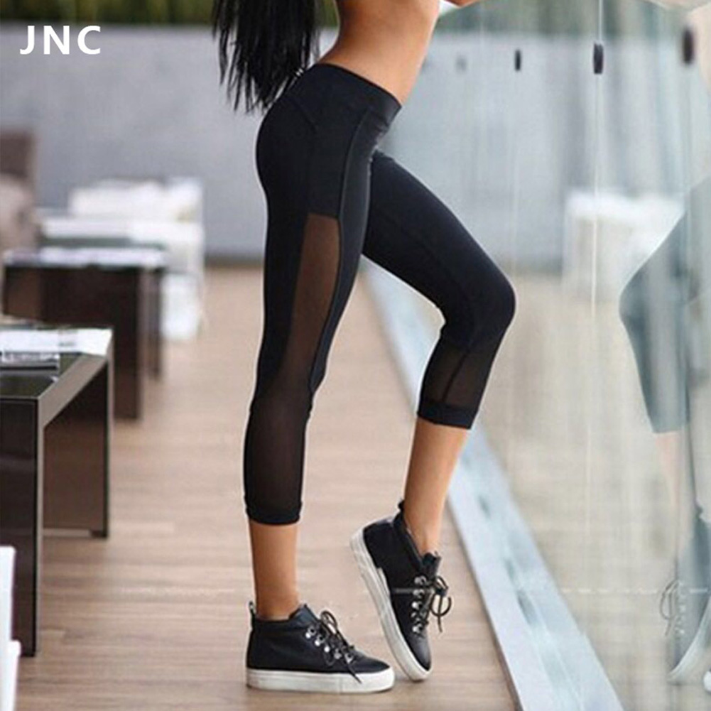 Hirigin 2019 Newest Women's Casual Patchwork Gym Stretch Leggings Pants Fitness Jogging Running Sports Trousers