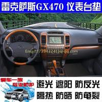 dashmats car styling accessories dashboard cover for lexus gx470 2003 2004 2005 2006