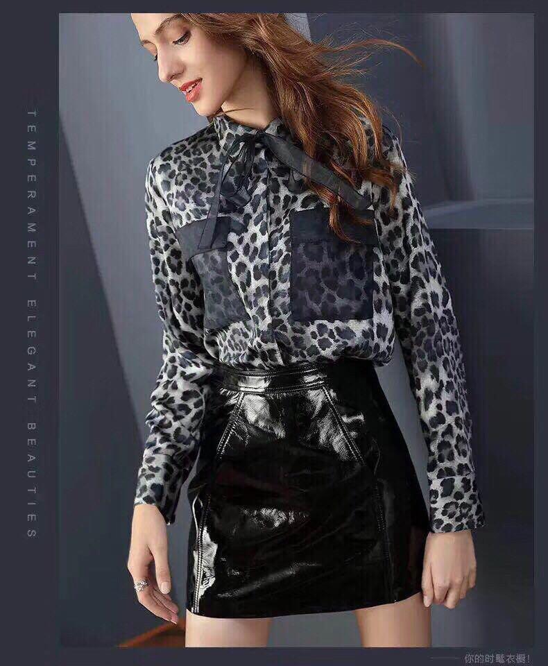 Al0151 Blousesamp; Vêtements Luxe Partie Chemises Européenne Design Style Mode Piste 2019 De Femmes doexCB