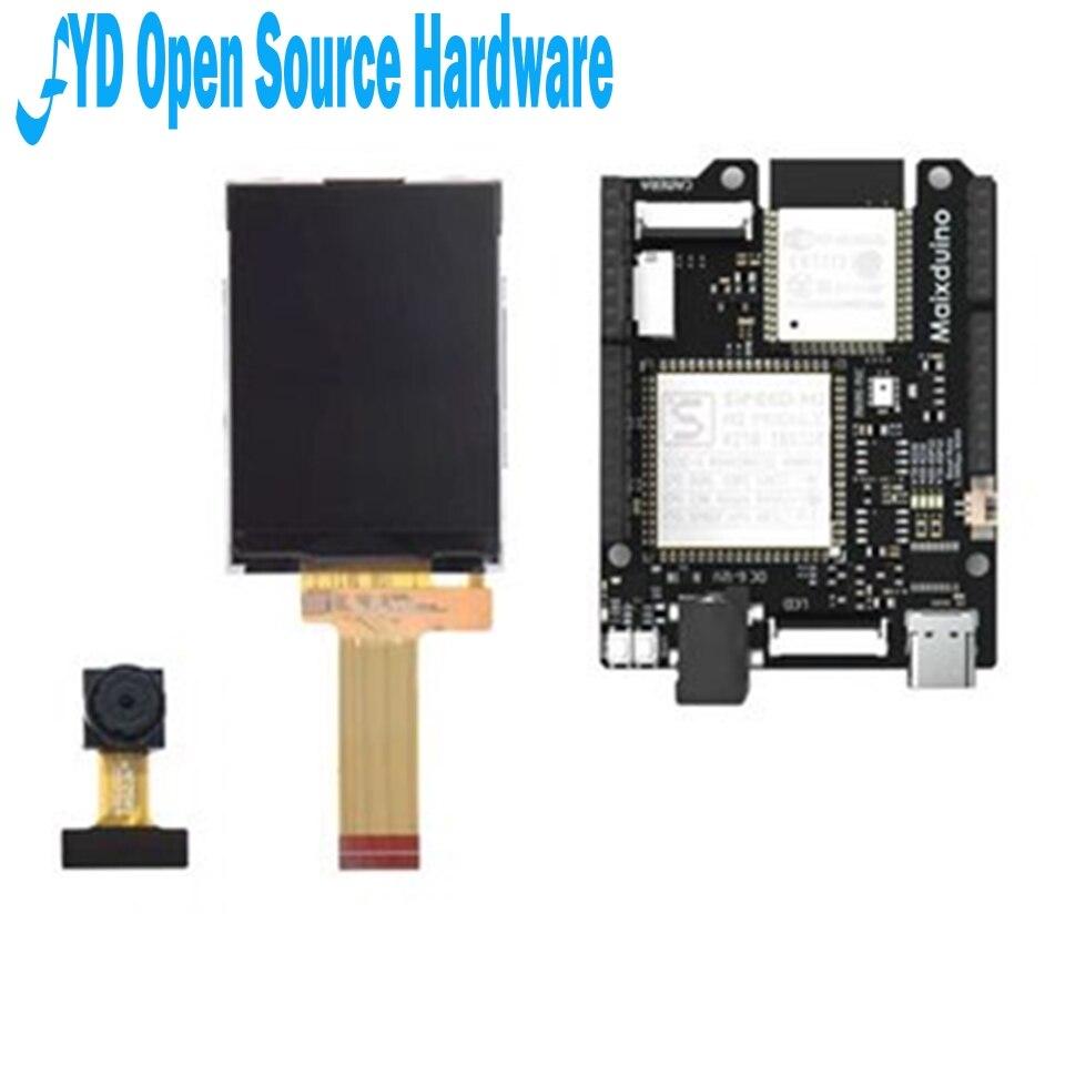 1 pièces Sipeed Maixduino AI carte de développement k210 RISC-V AI + lOT ESP32 Compatible avec Arduino
