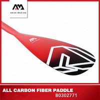 AQUA MARINA 2019 New Upgrade Carbon Pro Full Carbon Fibre SUP Paddle Inflatable Surf Board Paddle Kayak Oar T handle Surfing