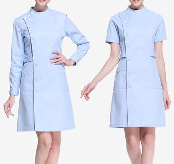 Work Wear Uniforms Beautician Overalls Beauty Salon Clothes Nurse Uniform Pharmacy uniformes clinicos mujer