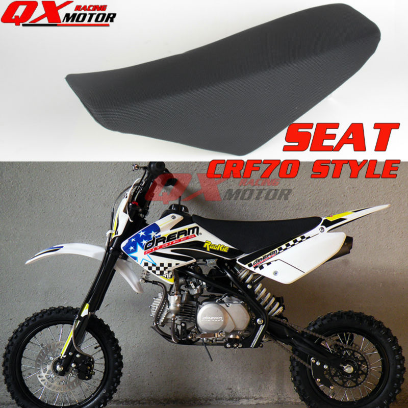 цена на Black Pit Bike Seat Dirt Bike Seat For CRF70 Style Chinese KAYO BSE Apollo OEM SSR SDG GPX CRZ 125cc 140cc 150cc 160cc dirt bik