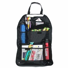 Auto Car Back Seat Organizer Multi Pocket Travel Storage Bag Food Pen Books Holder Hanging Pouch