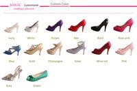 перевозка груза падения / бесплатная доставка горный хрусталь свадебные туфли на платформе сандалии красный свадебные туфли женщина размер 34-42