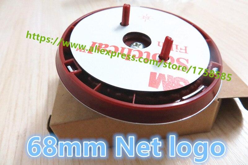 LARATH 1pcs 68mm XJ XJL network standard for Jaguar XF grid Logo Red Net standard radiation