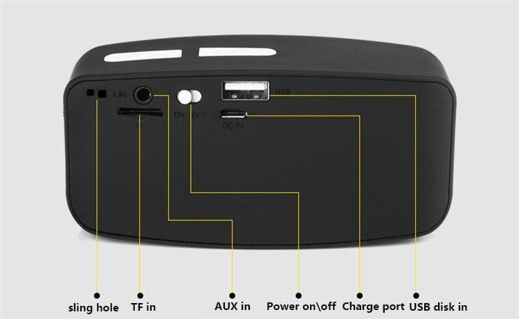 Venta al por mayor inalámbrico portátil MINI altavoz Bluetooth - Audio y video portátil - foto 4
