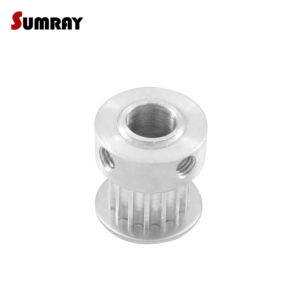 3M15T Timing Belt Pulley Synchronous Wheel Bore 3.175-8mm For 10mm Width Belt