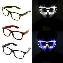 Standard Luminous LED Glasses Cold Light Glasses for Dancing Party Bar  Meeting Glow Rave Costume Party 54044c4a2c40