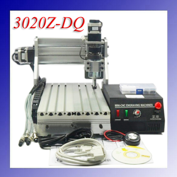 3 Axis 3020Z-DQ CNC Router Engraver  Cutting Machine CNC  3020 with Ball Screw