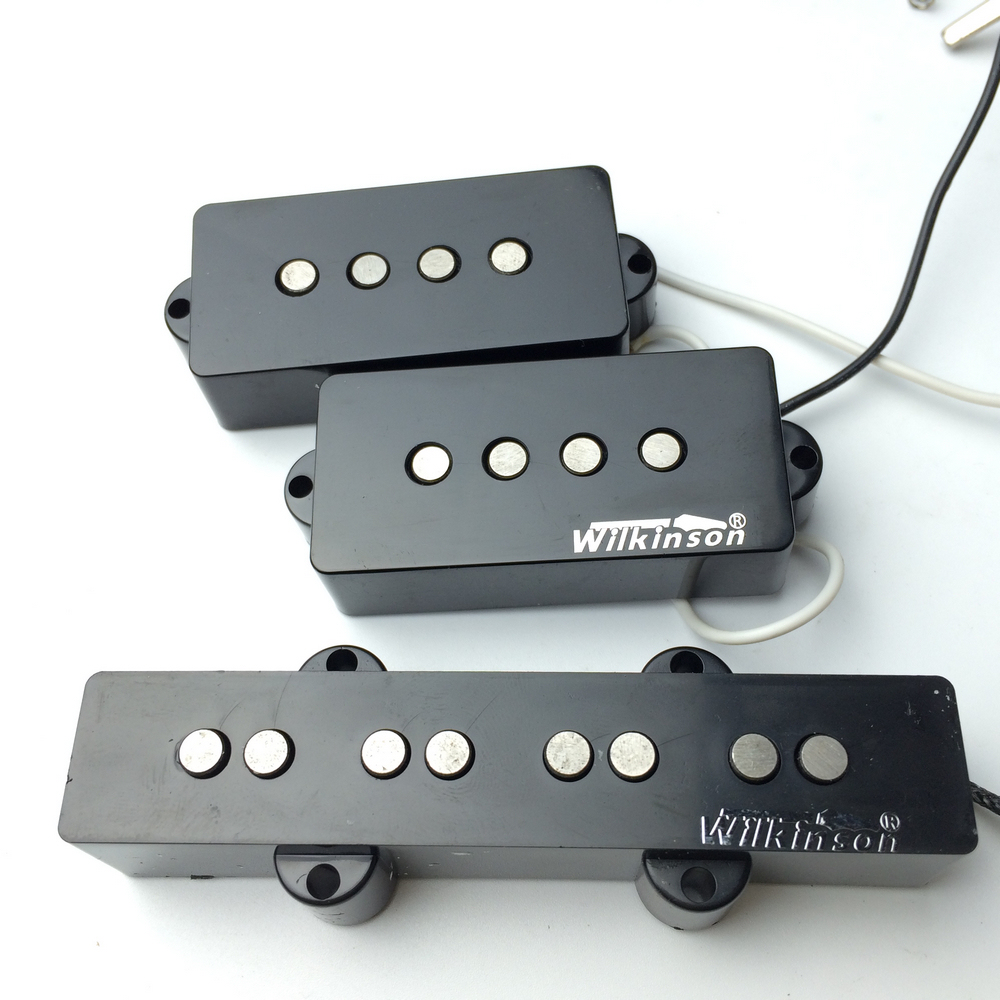 Electric bass Humbucker pickups open pickup WPB+WBJ PB bass Pickups belcat bass pickup 5 string humbucker double coil pickup guitar parts accessories black