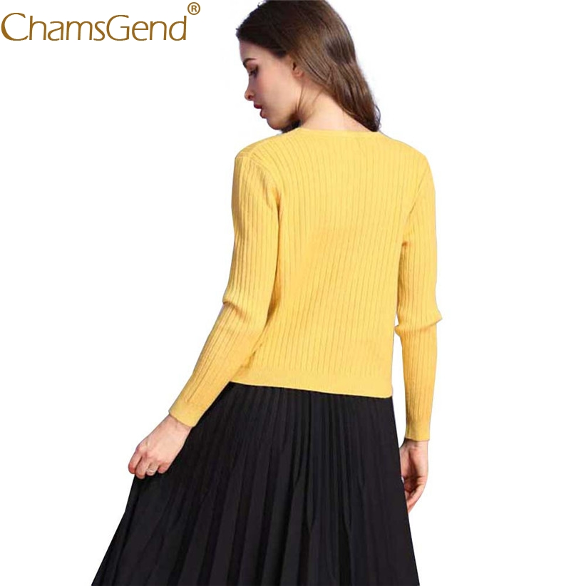 Aliexpress.com : Buy Chamsgend Newly Design Lady V Neck Cardigan ...