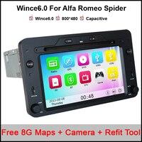 6.2 inch Car DVD Player GPS For Alfa Romeo Spider/159/Brera/159 Sportwagen 2005/2006 Onwards With Navigation/Canbus/Radio