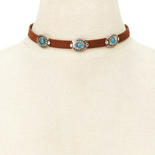 Ethnic Vintage Leather Choker