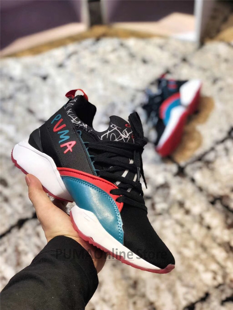 a4ba90904384f4 2018 Originele PUMA x SHANTELL MARTIN Muse Maia Grafische vrouwen Sneaker  Loopt Badminton Schoenen Size35.