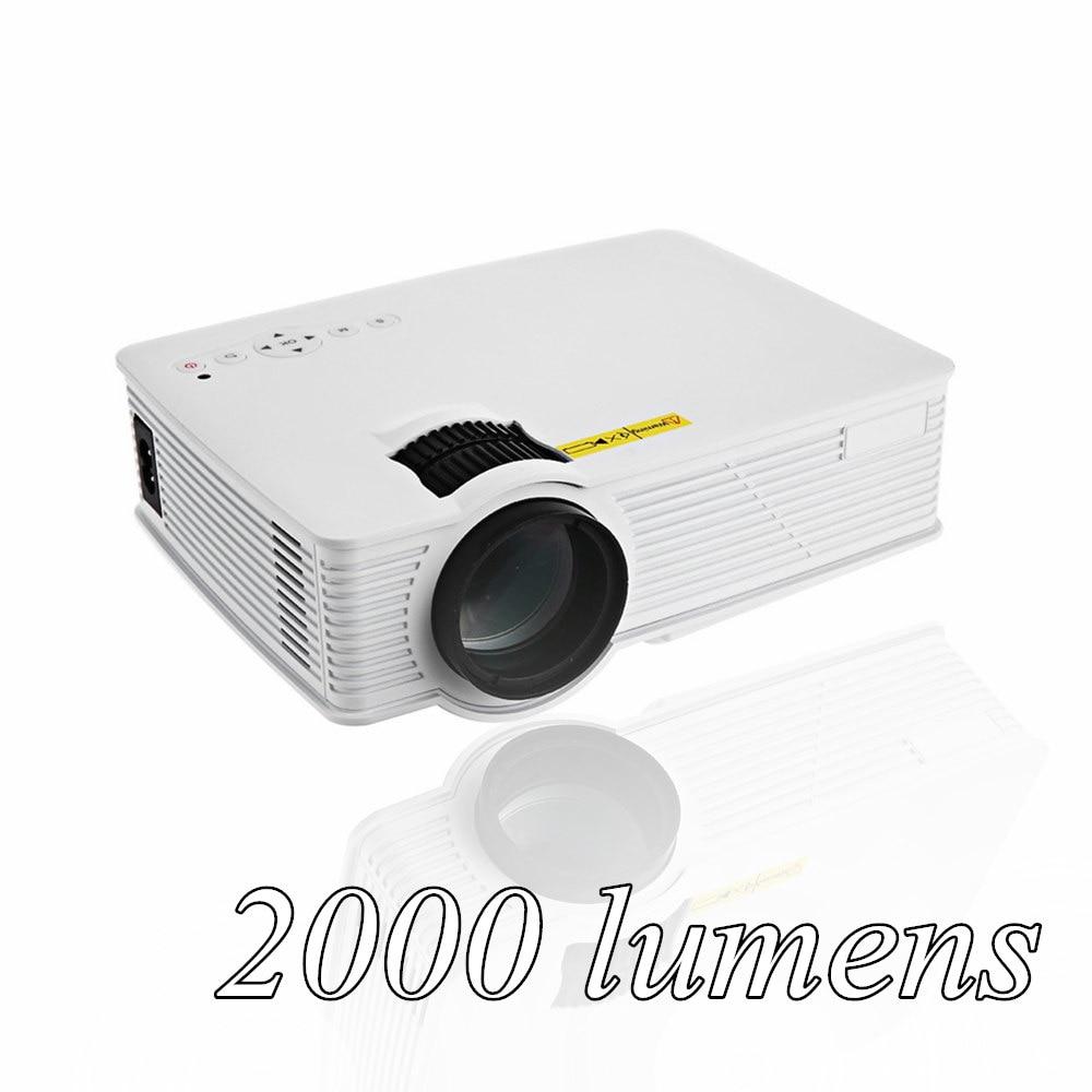 GP 9 2000 lumens Mini Projetor Full HD 1080P Portable USB Cinema Home Theater Pico LCD