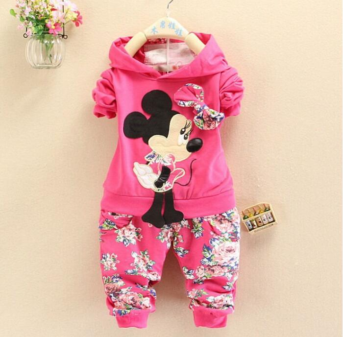 2016 new autumn childern girls leisure clothing sets baby girls long-sleeve clothes suit kids hoodies clothes sets girls outfits