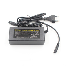 29.4V 2A charger 7 Series lithium battery charger 24 V 18650 charger for 24V 2A lithium battery pack Plug connector charger