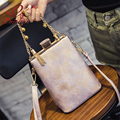 New Luxury fashion metal tassel party bells decorated ladies clutch purse female totes shoulder bag handbag mini messenger bag