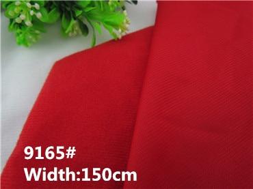 9165 # Red Adhesive Fastener Magic Sticker Loop Fleece fabric for DIY patchwork Vycpané hračky pohovka kartáčovaná velboa samet (1 metr)