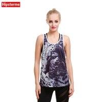 Hipsterme 2017 Hot Sexy frauen Atmungsaktive Weste Leopard 3D Gedruckt Tank Tops Mädchen T-shirt für großhandel