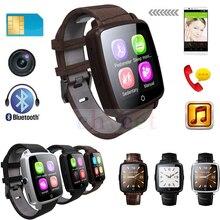 Q18 pro bluetooth smartwatch lederband smart watch unterstützung micro SIM Karte Video Spielen Schrittzähler für iOS Android Telefon PK Q18