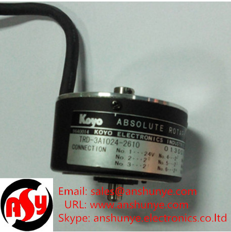TRD-3A1024-2610 Rotary Encoder Koyo Resolver e40s6 360 3 t 24 rotary encoder delta resolver