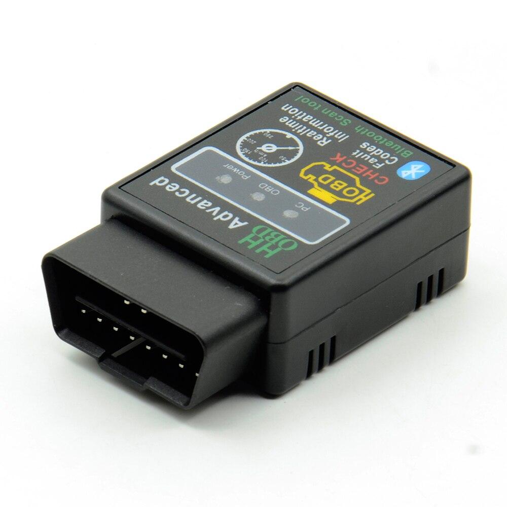 3 шт./лот HH OBD Advanced OBDII OBD2 ELM 327 Mini ELM327 V2.1 Bluetooth Автомобильный диагностический сканер считыватель кодов горячая распродажа