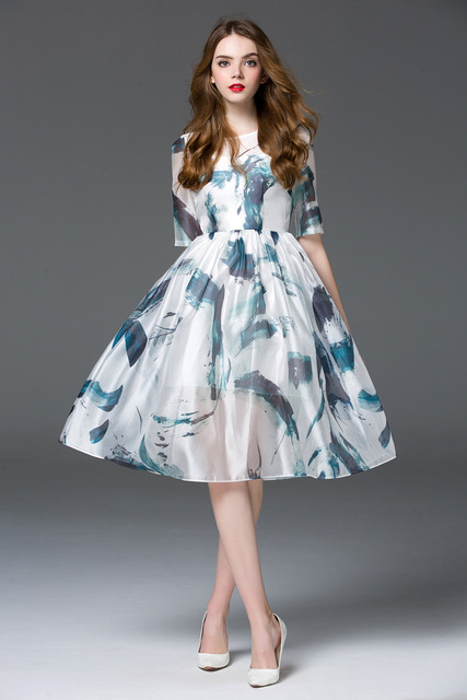 Casual Spring Dress - Colorful Dress Images of Archive