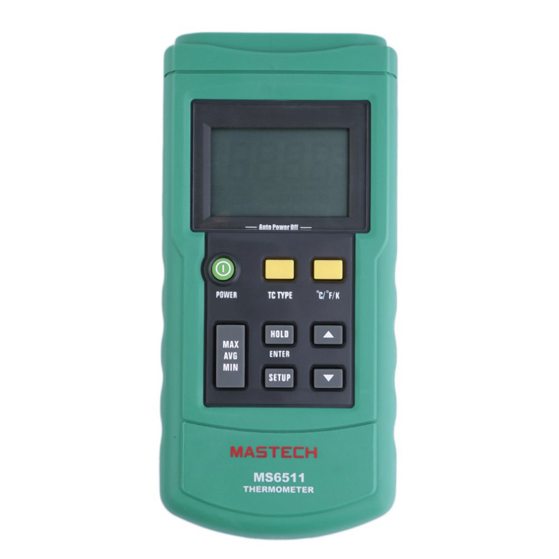 ФОТО Mastech MS6511 Digital Thermocouple Thermometer K J T E Type LCD Handheld Temperature Meter Tester Thermometro Diagnostic-tool