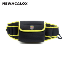 Utility Electrician Repair Tool Waist Bag Pouch 600D Oxford Fabric Hardware Work Belt Organizer Toolkit