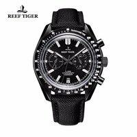 2020 novo reef tiger/rt designer esporte relógios com cronógrafo data alça de couro náilon super luminoso relógio para homem rga3033 tiger design watch for watches for men -