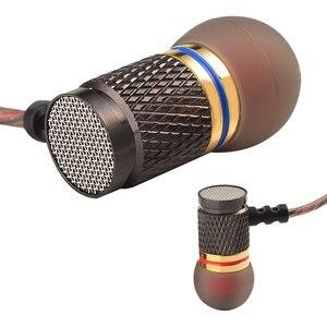 Image 2 - Наушники вкладыши QKZ, металлические Hi Fi наушники с тяжелыми басами, качественный звук, музыка, профессиональный мобильный телефон, гарнитура, наушники DM6