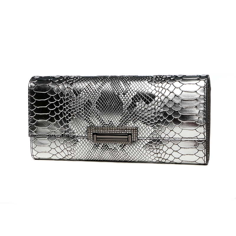 Womens Clutch Wallet Lady Hand Bag Shoulder Bag Female Handbag Famous Brand Celebrity Genuine Leather Serpentine Long Purse Card famous brand designer luxury alligator genuine leather women wallet long purse celebrity day clutch bag handbag shoulder bag