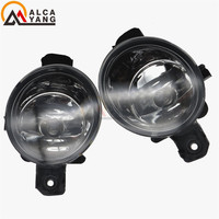 Malcayang Angel Eyes Car Styling 55W LED Halogen Fog LIGHT Lights Drl Refit For Renault CLIO