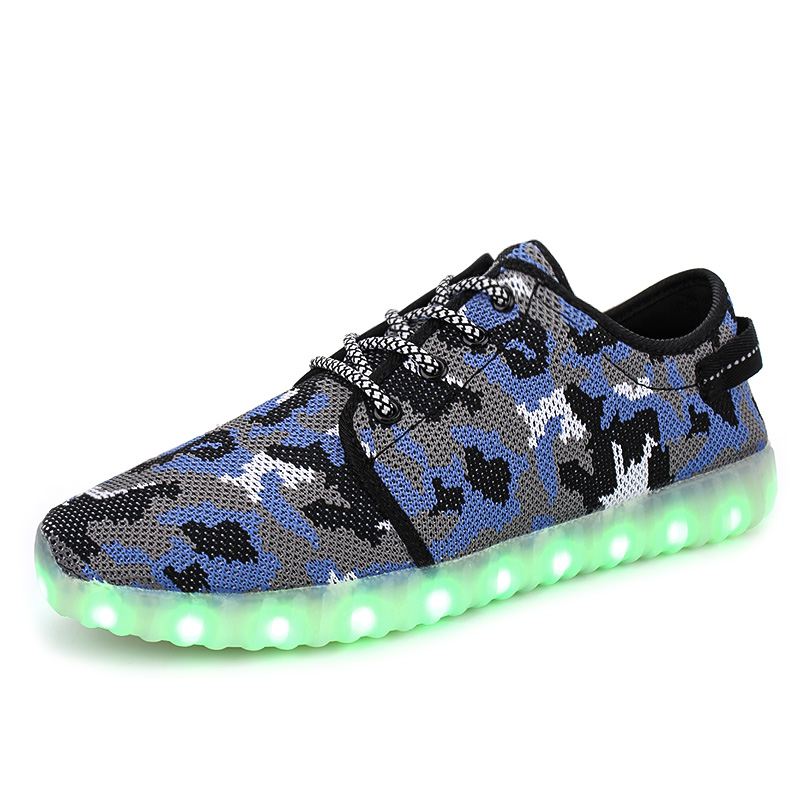 2017 New brands USB LED lighted up children shoes recharged Cool high quality girls boys shoes fashion baby kids sneakers
