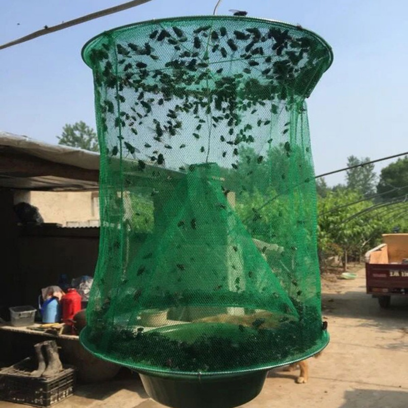 Fly Insect Catcher Fly Trap Flay Catcher Insect Trap Indoor Or Outdoor Family Farms Park Restaurants(China)