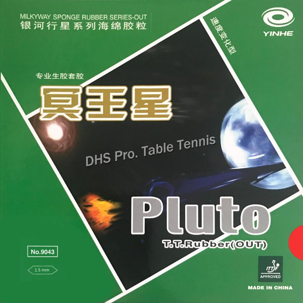 Galaxy Milky Way Yinhe Pluto Half Long Pips-Out Table Tennis  Rubber With Sponge