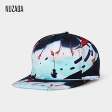 Бренд NUZADA, эксклюзивный дизайн, 3D принт, хип-хоп кепка для мужчин и женщин, нейтральная пара, рисунок в стиле панк, высококачественные кепки