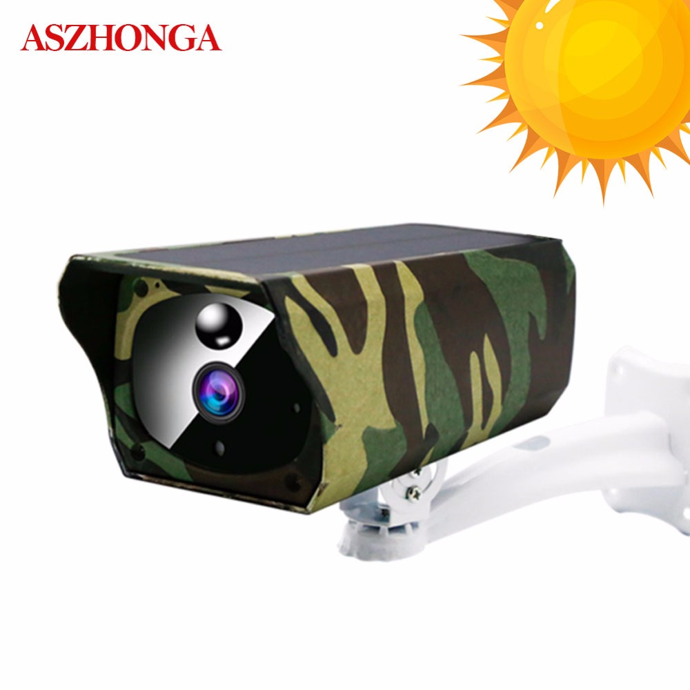 CCTV Security Solar IP Camera Outdoor Camouflage Wireless WI FI 1080P HD Energy Saving Waterproof Audio