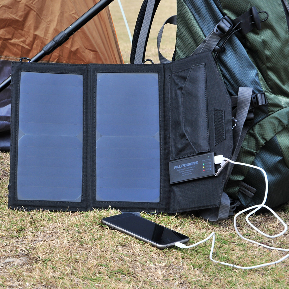 New Arrival Solar Panel 14W with Lithium Battery Solar Panel Charger for iPhone 4s 5 5s SE iPhone 6 6s 7 8 iPhone X Samsung etc. цена