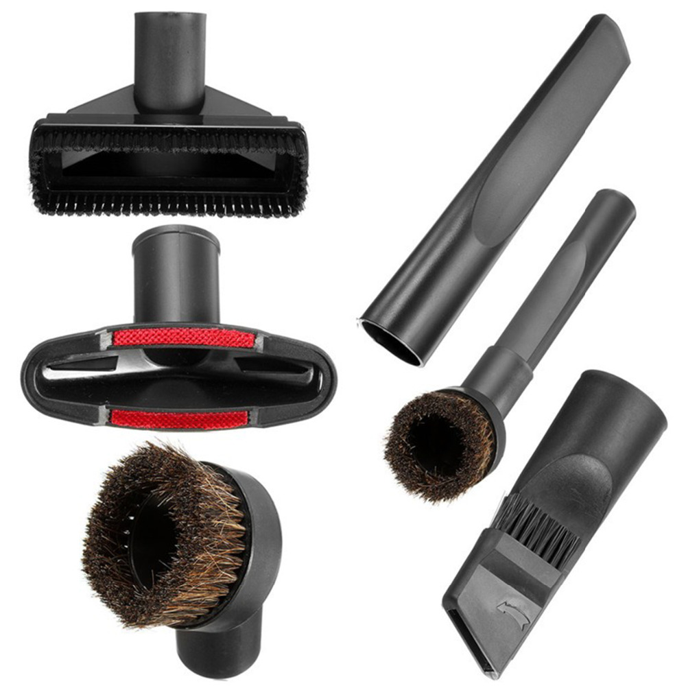 6 In 1 Vacuum Cleaner Brush Nozzle Home Dusting Crevice Stair Tool Kit 32mm 35mm #C05# 3 pieces lot vacuum cleaner brush hose tool kit for karcher vacuum cleaners 35mm crevice brush