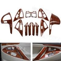 Принадлежности для шашлыков @ FUKA автомобиля интимные аксессуары 12 шт. внутренняя консоли центр приборной панели декор Обложка Накладка Toyota